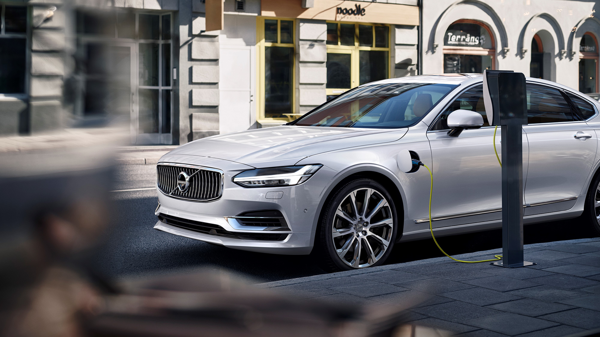 The all new Volvo S90